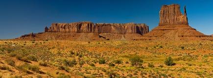 Panorama del valle del monumento, Arizona Fotos de archivo libres de regalías
