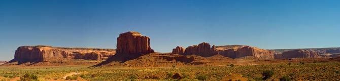 Panorama del valle del monumento, Arizona Imágenes de archivo libres de regalías