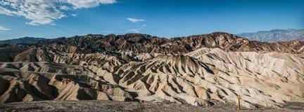 Panorama del zabriskie de Death Valley Imagen de archivo