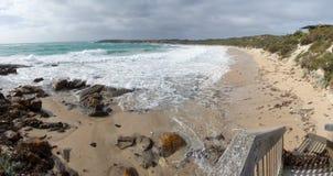 panorama delfinów bay Fotografia Stock