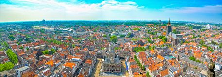 Delft in the Netherlands Stock Photo