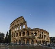 Panorama dell'arena di Colosseum Roma Italia Fotografie Stock