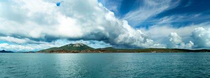 Panorama dell'Australia delle isole di Pentecoste Fotografie Stock