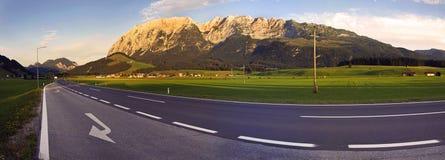 Panorama dell'Austria Grimming Immagini Stock Libere da Diritti