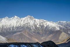 Panorama dell'Himalaya immagini stock libere da diritti