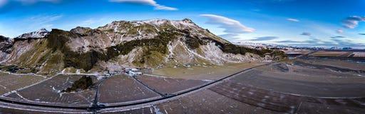 Panorama dell'Islanda Immagini Stock