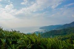 Panorama dell'isola di Phuket thailand fotografie stock libere da diritti
