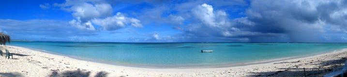 Panorama dell'oceano Fotografie Stock Libere da Diritti