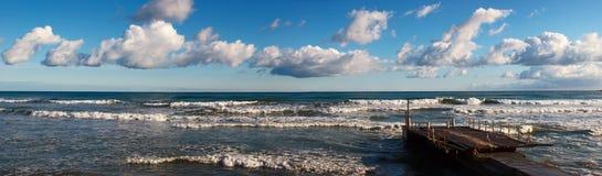 Panorama dell'oceano Immagine Stock Libera da Diritti