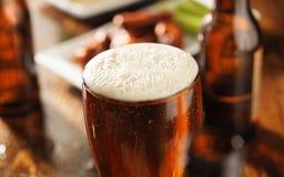Panorama della birra Fotografie Stock