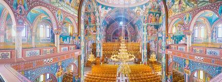Panorama della chiesa Fotografia Stock