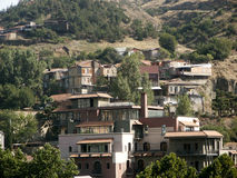 Panorama della città Immagine Stock