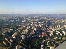 Panorama della città Immagine Stock Libera da Diritti