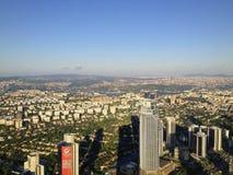 Panorama della città Immagini Stock