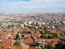 Panorama della città di Ankara, Turchia Fotografia Stock Libera da Diritti