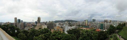 Panorama della città di Macau Fotografie Stock