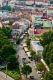 Panorama della città di Tallinn Immagini Stock