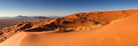 Panorama della duna di Elim Fotografie Stock