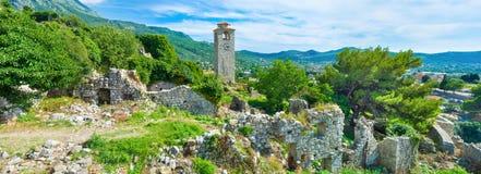 Panorama della fortezza Fotografie Stock Libere da Diritti