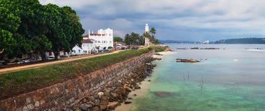 Panorama della fortificazione di Galle, Sri Lanka, Asia Immagini Stock