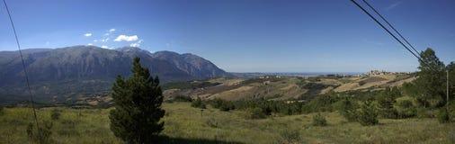 Panorama della majella Stock Photo