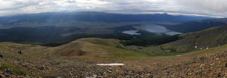 Panorama della montagna Fotografia Stock Libera da Diritti