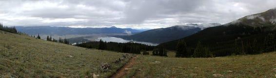 Panorama della montagna Immagine Stock Libera da Diritti