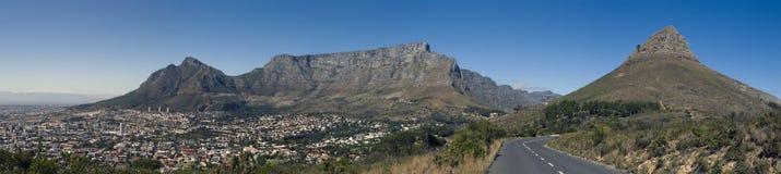 Panorama della montagna della Tabella Immagine Stock