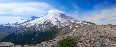 Panorama della montagna di Burroughs Fotografia Stock Libera da Diritti