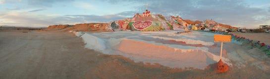 Panorama #2 della montagna di salvezza Fotografia Stock
