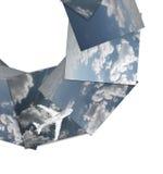 Panorama della nube Immagini Stock