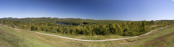 Panorama della Nuova Inghilterra Fotografie Stock