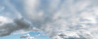 Panorama della nuvola del cielo di XXXL fotografia stock libera da diritti