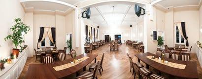 Panorama della sala da ballo Fotografie Stock Libere da Diritti