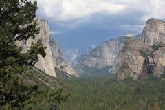 Panorama della sosta del Yosemite Immagini Stock