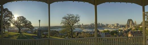 Panorama della sosta di Sydney immagini stock