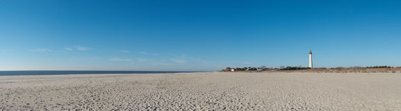 Panorama della spiaggia Immagine Stock Libera da Diritti