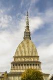 Panorama della talpa Antonelliana Torino, Piemonte, Italia immagine stock libera da diritti