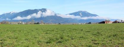 Panorama della valle Immagini Stock