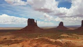 Panorama della valle del monumento video d archivio