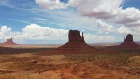 Panorama della valle del monumento archivi video