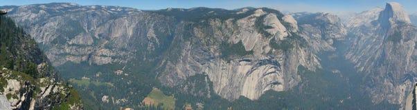Panorama della valle del Yosemite Immagine Stock Libera da Diritti