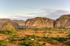 Panorama della valle di Vinales - Cuba Immagine Stock Libera da Diritti