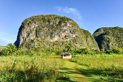 Panorama della valle di Vinales - Cuba Fotografie Stock Libere da Diritti