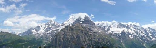 Panorama delle alpi Immagine Stock Libera da Diritti