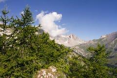 Panorama delle alpi di Piemonte Immagine Stock Libera da Diritti