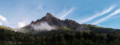 Panorama delle montagne Fotografie Stock Libere da Diritti