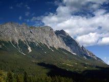 Panorama delle montagne dell'Austria Fotografie Stock