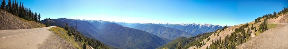 Panorama delle Montagne Rocciose Fotografie Stock