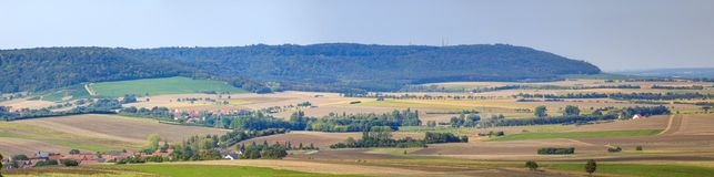 Panorama dello Schwanberg in Baviera Fotografie Stock